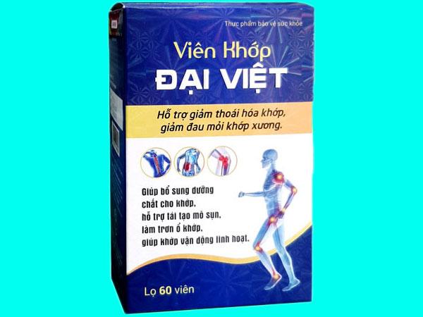 Mặt trước Viên Khớp Đại Việt