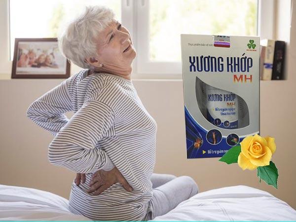 Xương Khớp MH hỗ trợ điều trị đau nhức xương khớp