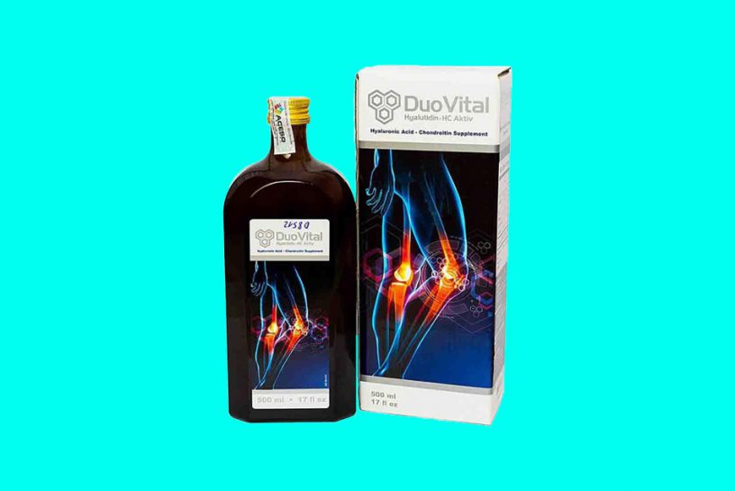 DuoVital giúp củng cố tính bền vững của các cơ và hệ xương khớp